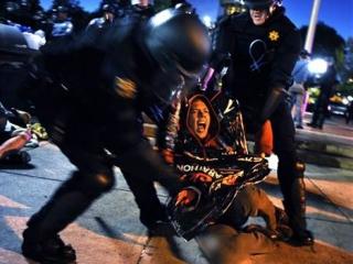 Лавров раскритиковал Запад за разгон акций протеста