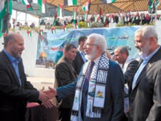 «Братья-мусульмане» совершили исторический визит в Газу