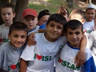 Нижегородские дети к празднику подготовили макеты мечетей