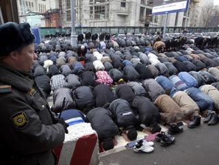 Курбан-байрам у Соборной мечети. Фоторепортаж