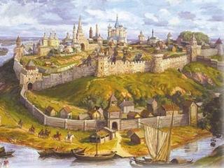 Казанское ханство в офорте можно увидеть в Татарстане