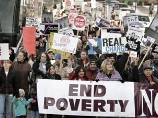 В США установлен рекорд бедности