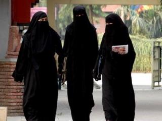 Паранджа мусульманские девушки фото