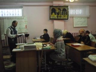 Ореховские мусульмане молились в Татарском культурном центре