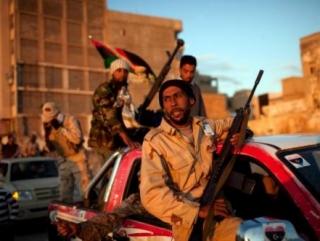 Российские пленники ливийских повстанцев