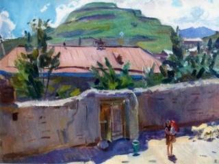 За что русская художница полюбила Дагестан?