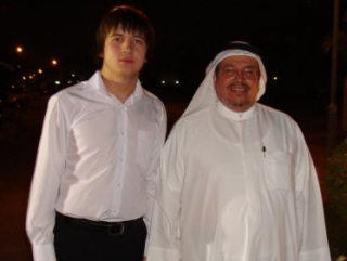 С доктором  Адель Абдуллой Аль-Фаляхом