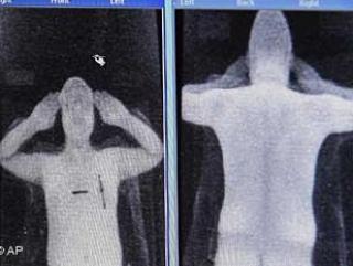 Евросоюз одобрил сканеры, показывающие интимные части тела