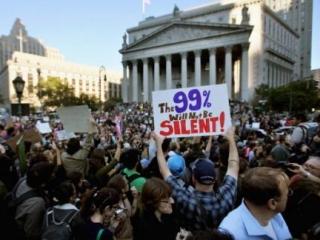 """Американская полиция """"спасла"""" """"спрута"""" от протестующих"""