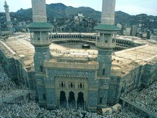 Бывшие ворота Аль-Умра, а ныне короля Сауда