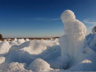 В Ингушетии переполох: Найден снежный человек