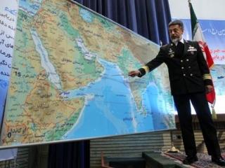 Флот США маневрирует рядом с военно-морскими маневрами Ирана