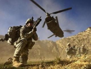 В Афганистане сбит американский вертолет
