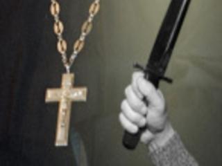 Дед Мороз убил священника в Яффе