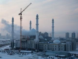 Пожар не причинил большого вреда мечети в Астане
