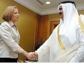 Эмир Катара тайно посетил Израиль