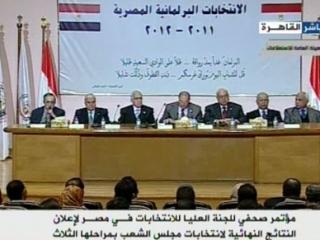 Происламские силы получили 70% мест в парламенте Египта