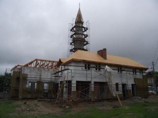 В мечети проводятся уже отделочные работы