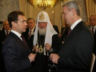 Собянин отметил активность РПЦ в Москве