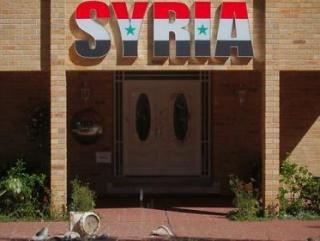 Оппозиционеры разгромили посольство Сирии в Австралии