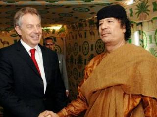 Британские власти поддерживали теплые отношения с Каддафи