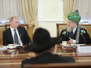 Путин: Столько мечетей мусульмане не получали за всю историю