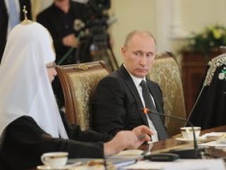 Встреча религиозных деятелей с Владимиром Путиным