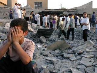 Восемь афганских детей погибли под бомбежкой НАТО