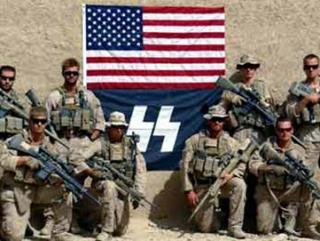 Солдаты США в Афганистане позиционируют себя фашистами