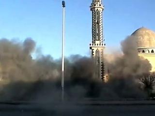 """В Сирии продолжаются обстрелы жилых кварталов, несмотря на критику мирового сообщества. Фото: """"Аль-Джазира"""""""