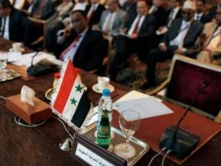Кресло представителя Сирии пустовало на протяжении всей встречи Совета ЛАГ