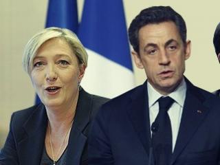 Ле Пен, Саркози - кандидаты в президенты Франции
