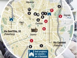 Миланские мусульмане не получат обещанную Центральную мечеть
