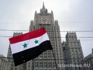 """Спасибо Россия, спасибо Медведев, спасибо Путин"", - скандировали участники митинга солидарности с народом Сирии"