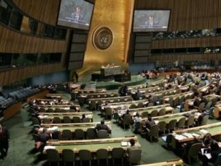 В Генеральной ассамблее - в отличие от Совбеза ООН - не действует право вето