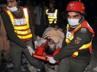 Теракт произошел во время визита иранского президента Махмуда Ахмадинежада в Пакистан