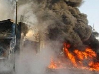 До 4 снарядов в минуту падает на сирийский город  Хомс