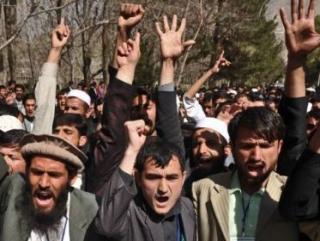 Афганцы протестуют против сожжения Корана военными США