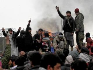 Афганцы протестуют против осквернения Корана натовцами