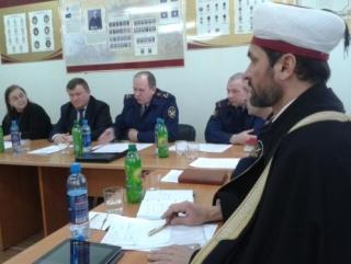 Муфтий Забиров на заседание общественного Совета УФСИН