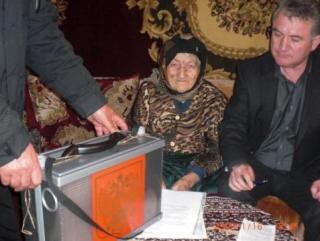 Одна из старейших женщин в России – 111 летняя жительница Карачаево-Черкесии приняла участие в выборах