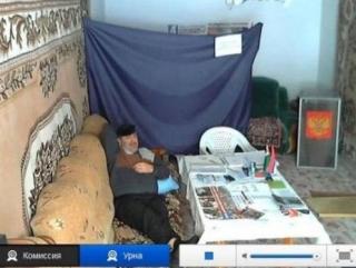 """Самый """"маленький"""" избирательный участок Чеченской Республики стал лидером просмотра в Интернете"""
