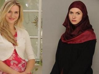 Одинокая мама дочки Инайи говорит, что она стала мусульманкой по интеллектуальным и феминистским причинам