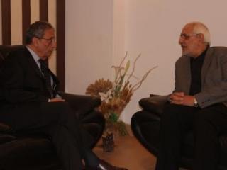Кандидаты в президенты Египта Амр Муса и Абдель Монеим Абуль Фаттух. Фото IslamNews.