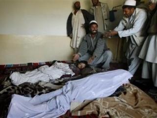 16 мирных афганцев стали жертвами американского военного