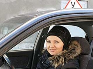 Мусульманки - одни из самых дисциплинированных водителей