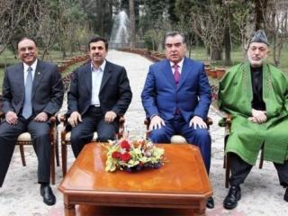 Накануне в Душанбе прошла четырехсторонняя встреча президентов Пакистана, Ирана, Таджикистана и Афганистана (фото: Рейтер)