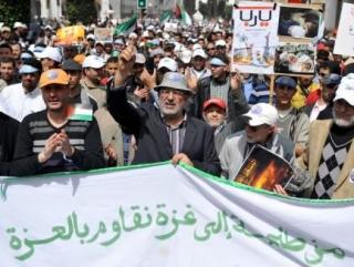 Участие израильского представителя в заседании Совета Средиземноморской Парламентской Ассамблеи в Рабате вызвало широкий протест политических и общественных кругов Марокко