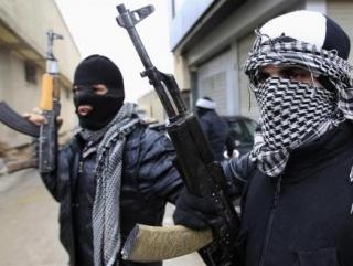 """Члены повстанческой """"Свободной сирийской армии"""""""