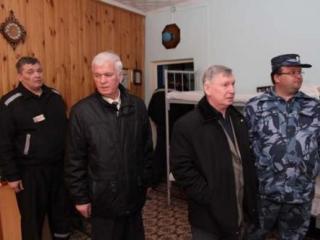 Встреча общественных наблюдателей с заключенными